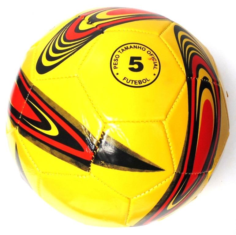f01eb5d97 Bola De Futebol De Couro Sintético Importada - R  19