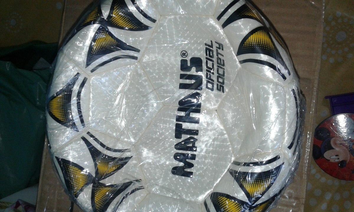 bola de futebol oficial mathaus direto da fabrica ! Carregando zoom. fc32f972d04ea