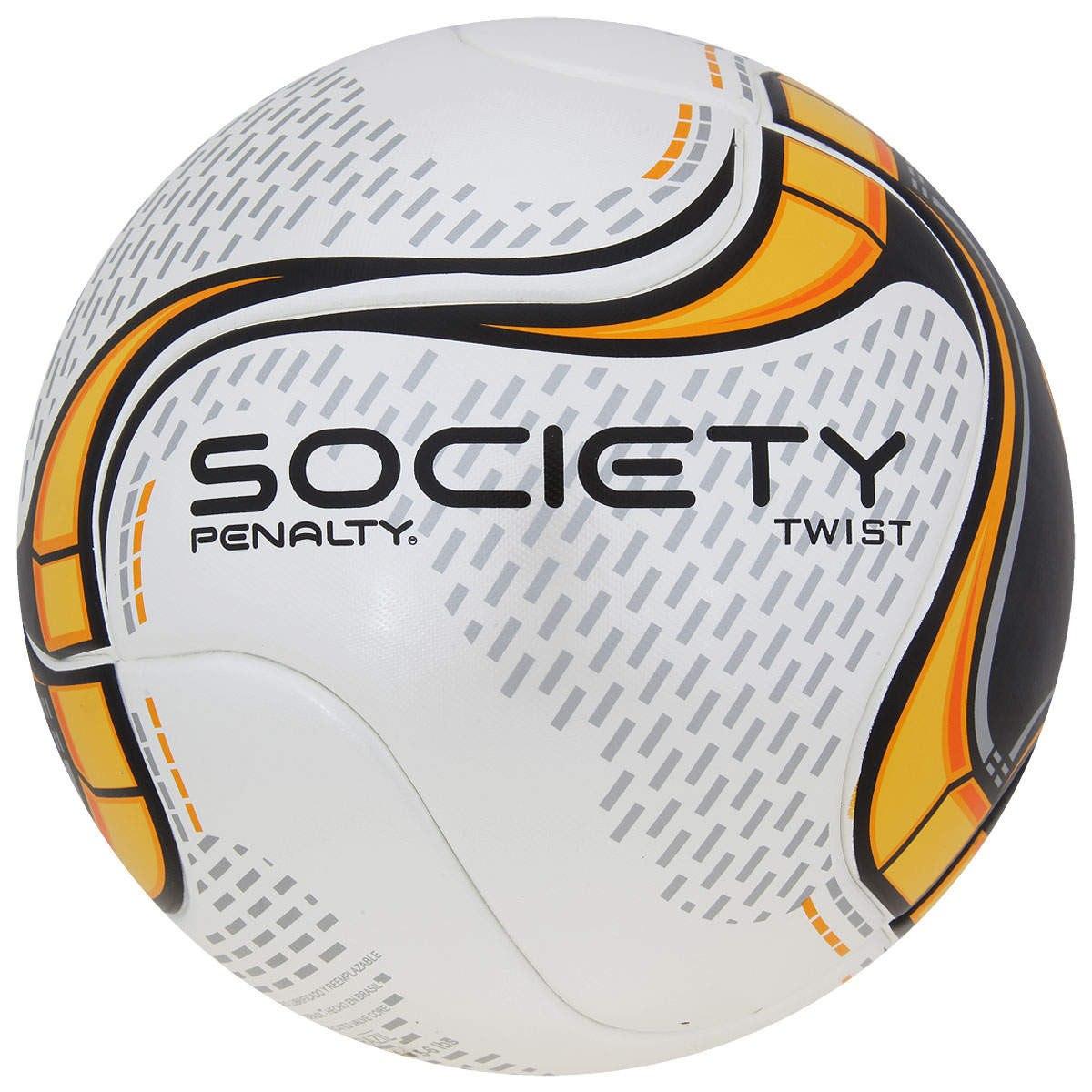 bola de futebol society twist 8 kick off temotec penalty. Carregando zoom. b973bf022a568