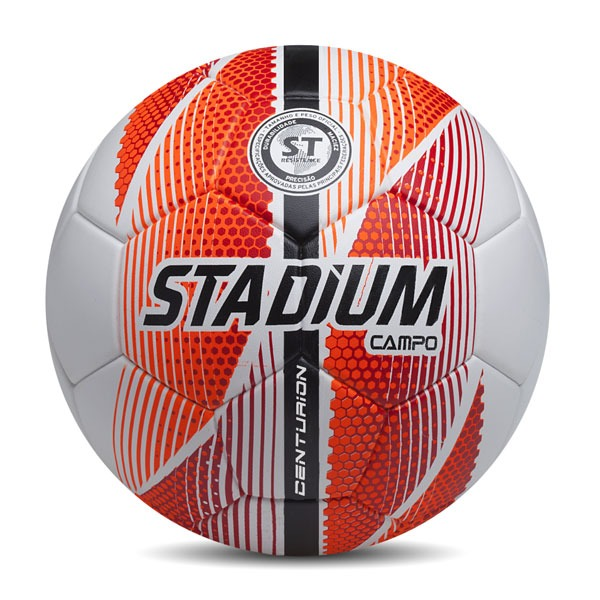 ed14cbd1d4 Bola De Futebol Stadium Centurion Campo Laranja branco azul - R  79 ...