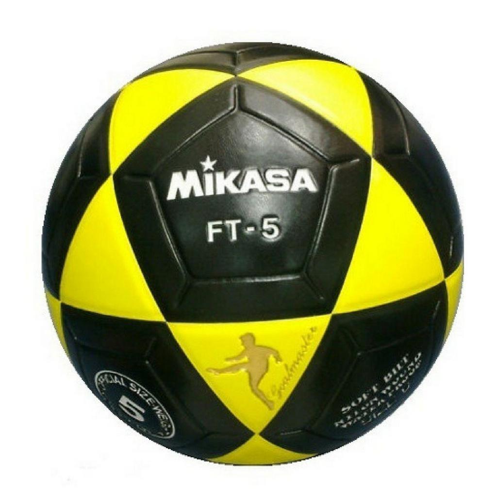525f0f0a0e9c2 bola de futevôlei mikasa ft 5 - preto amarelo. Carregando zoom.