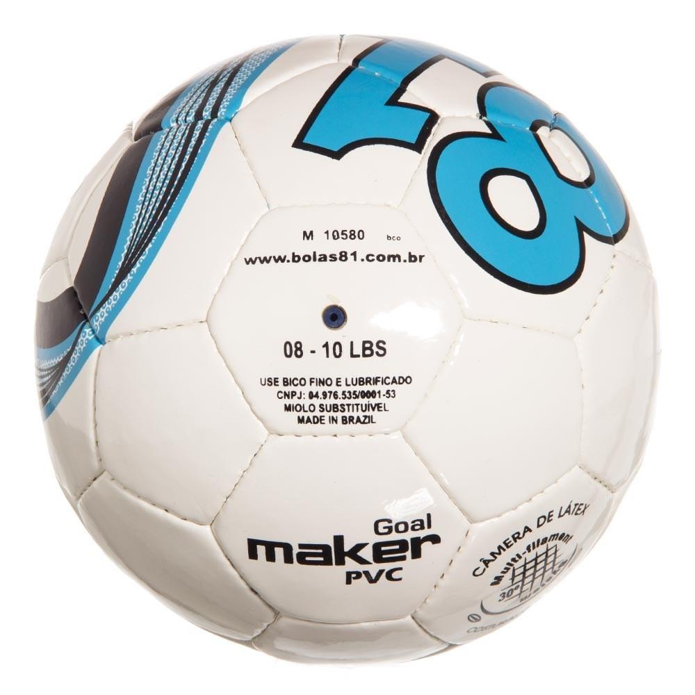 bola de futsal 81 goal maker branca azul. Carregando zoom. defff4241d75a
