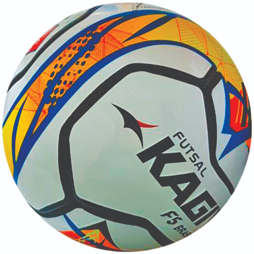 bola de futsal f5 brasil kagiva - sub 9