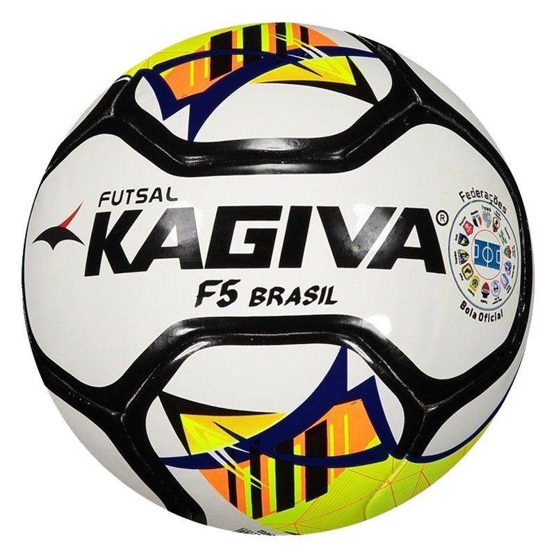 Bola De Futsal Kagiva F5 Brasil Pro - Bola Da Liga Futsal - R  184 ... cf0450b2f12ab