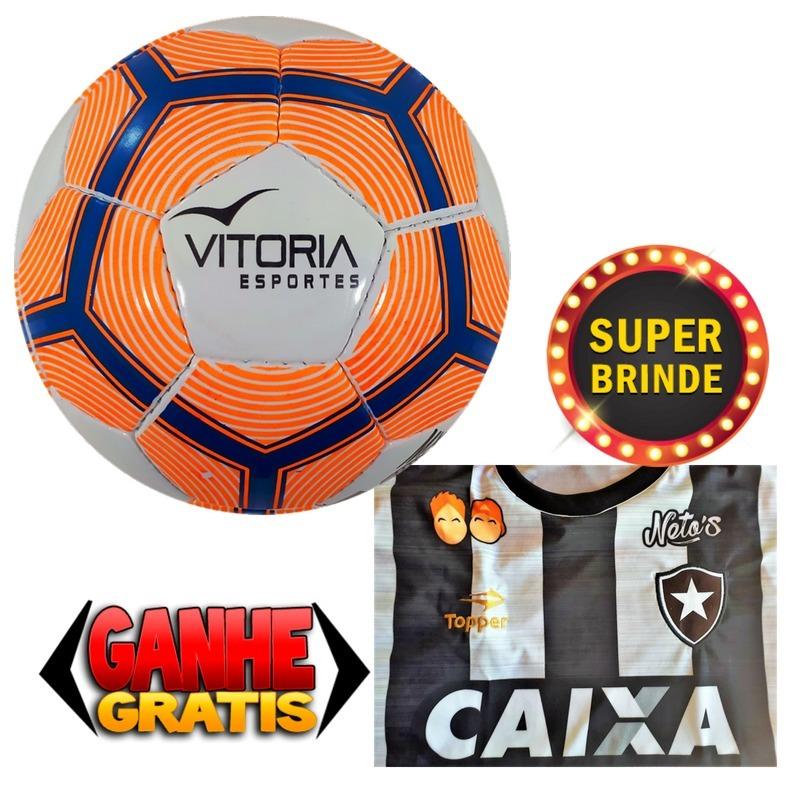 edeba84c82 Bola De Futsal Oficial + Brinde Camisa Botafogo - R  120