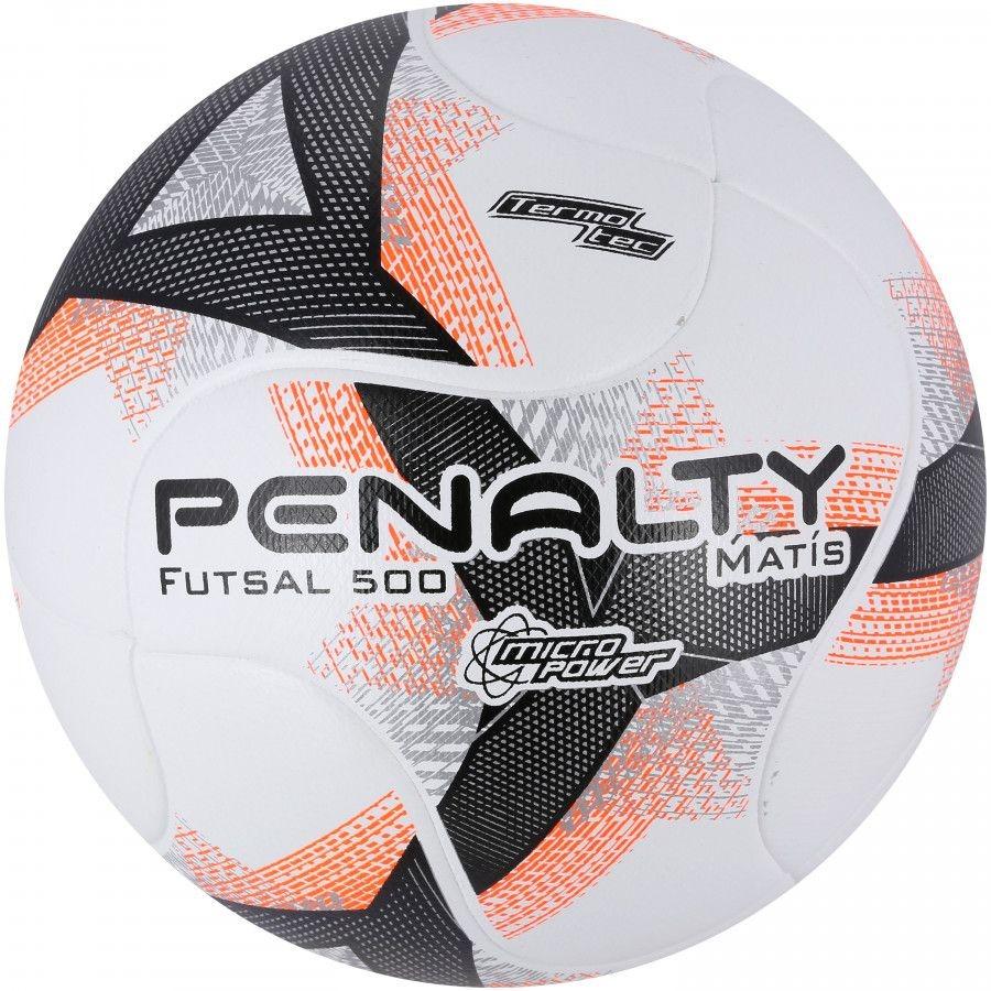 87073bcf08 Bola De Futsal Penalty Matís 500 Termotec Viii - R  124