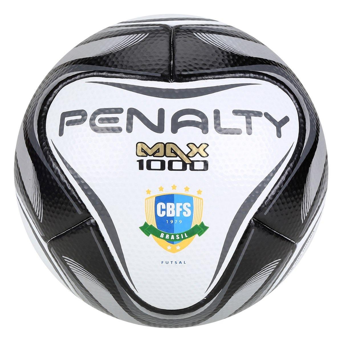 0f43904850855 bola de futsal penalty max 1000 all black - edição limitada. Carregando zoom .