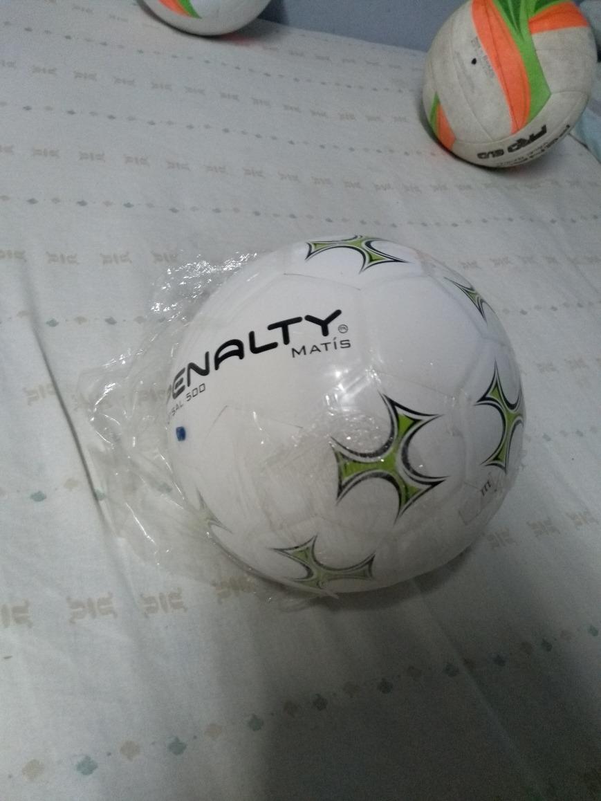 b76c8c5b01101 Bola De Futsal Penalty Max 500 Nova - R  170