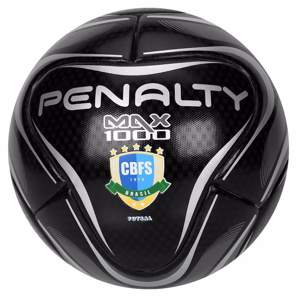 ef0658e64b bola de futsal penalty oficial max 1000 profissional black. Carregando zoom.