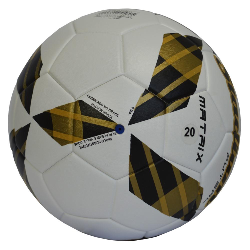 9ae1ab1534 bola de futsal stadium matrix ultra fusion -branco dourado. Carregando zoom.