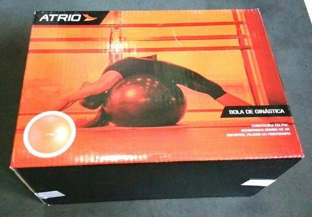 dbd5e84458ecc Bola De Ginástica 65cm Diâmetro Com Bomba Atrio - Es119 - R  85