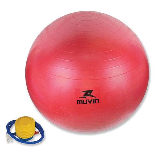 bola de ginástica - 65cm - vermelho