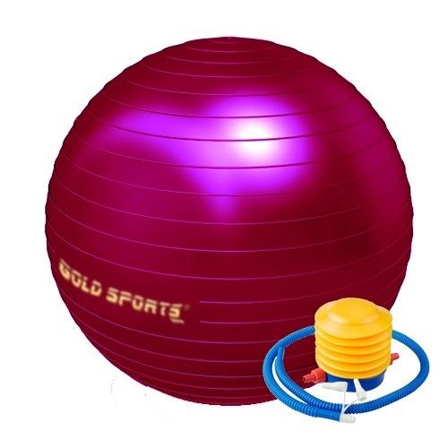 93338c1d33 Bola De Ginástica Pilates Gold Sports 75cm Anti-explosão Vlh - R  79 ...
