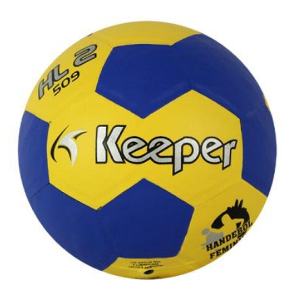 7d00acd6a6 bola de handball handebol h2l 509 feminina matrizada keeper. Carregando  zoom.