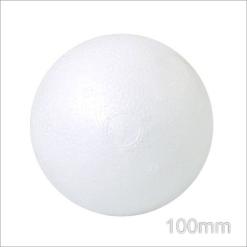 Bola De Isopor Maciça Styroform 100mm C 10 - R  12 9c105d3ba60a7