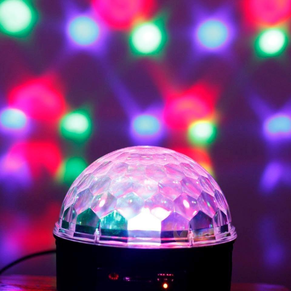 Bola de luces led para discoteca puerto usb control remoto 799 00 en mercado libre - Focos led con luces de colores ...