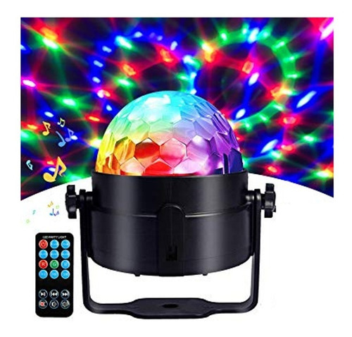 bola de luces led rgb audioritmica discoteca + control