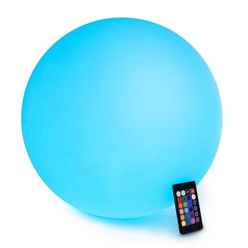 bola de luz led de loftek: esfera flotante recargable e inal