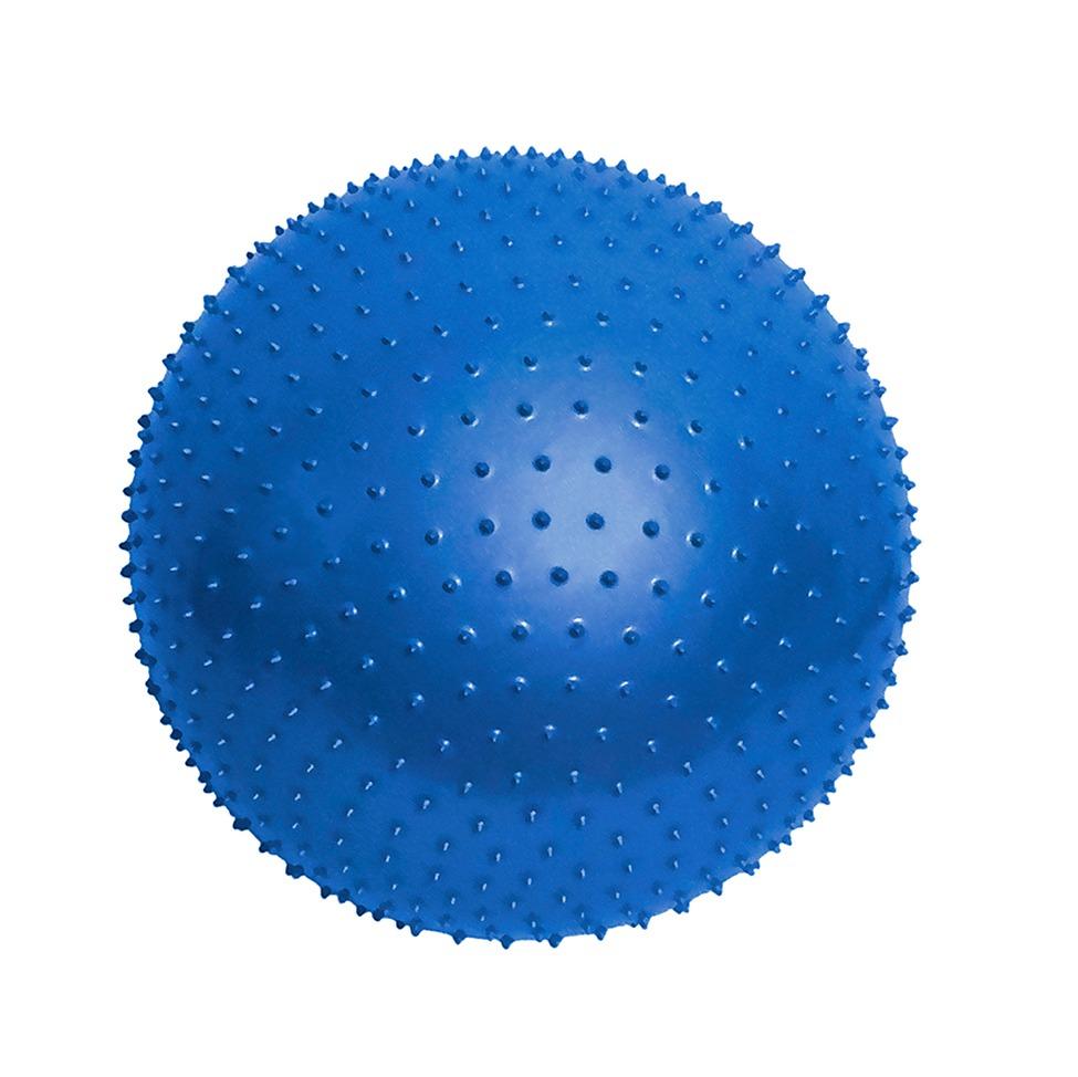 bola de massagem 65cm com bomba de ar t9-massage azul - acte. Carregando  zoom. ff91d4e577cc5