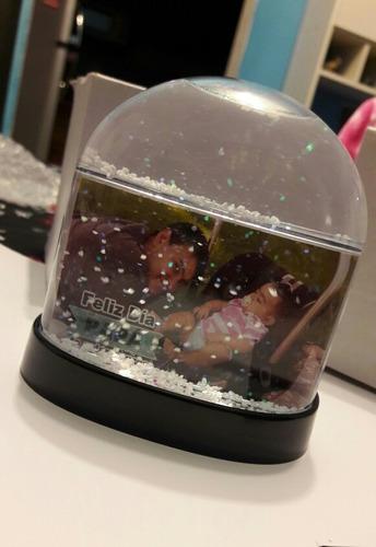 bola de nieve personalizada día del padre/ día del amigo