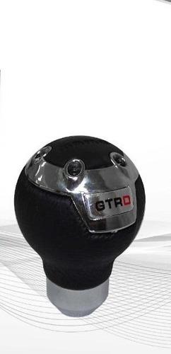 bola de palanca momo plateada nueva