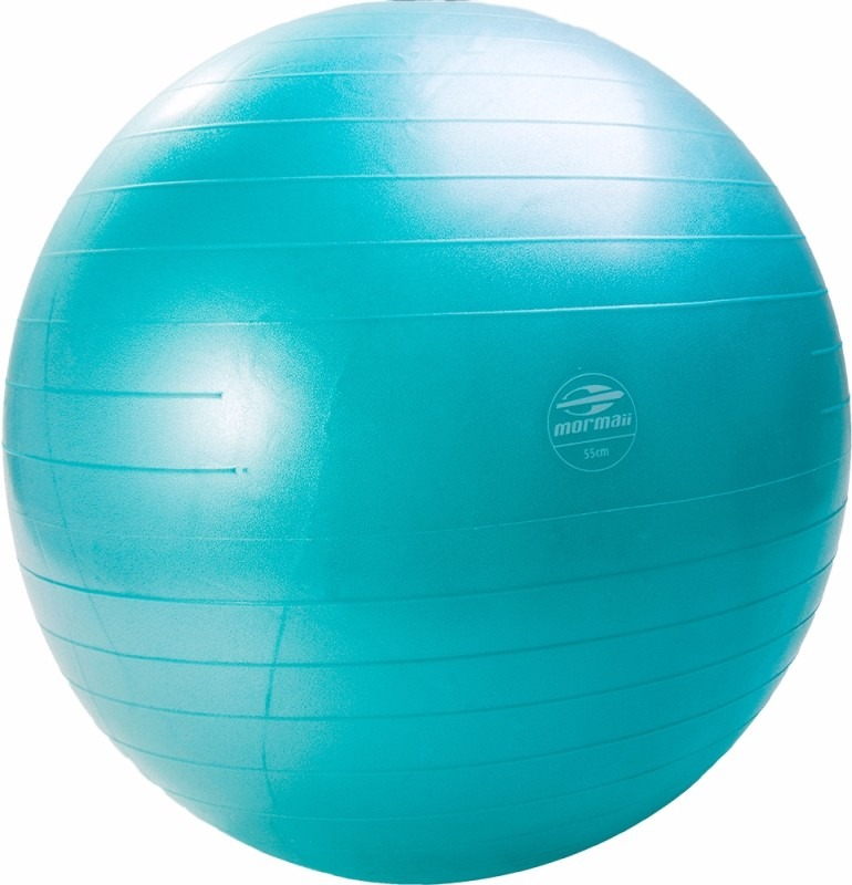 f606a6d1a2f94 Bola De Pilates yoga Gymball 55cm Mormaii+bomba Infladora - R  49