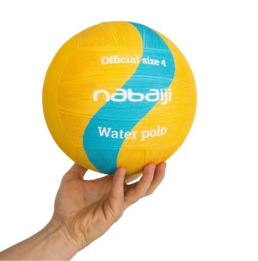 01fd6e34b Bola De Polo Aquático Tamanho 4 Nabaiji - R  89