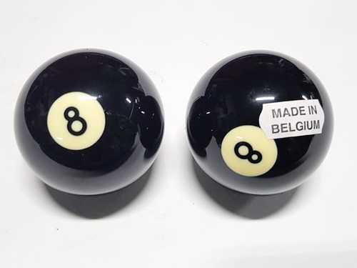 bola de pool o billar 8 negro profesional aramith