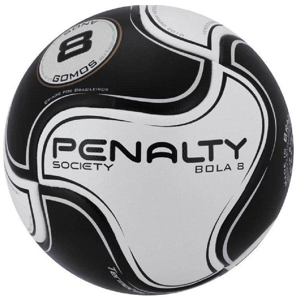 dc668c9b7b7f1 bola de society penalty 8 gomos termotec preto oficial. Carregando zoom.
