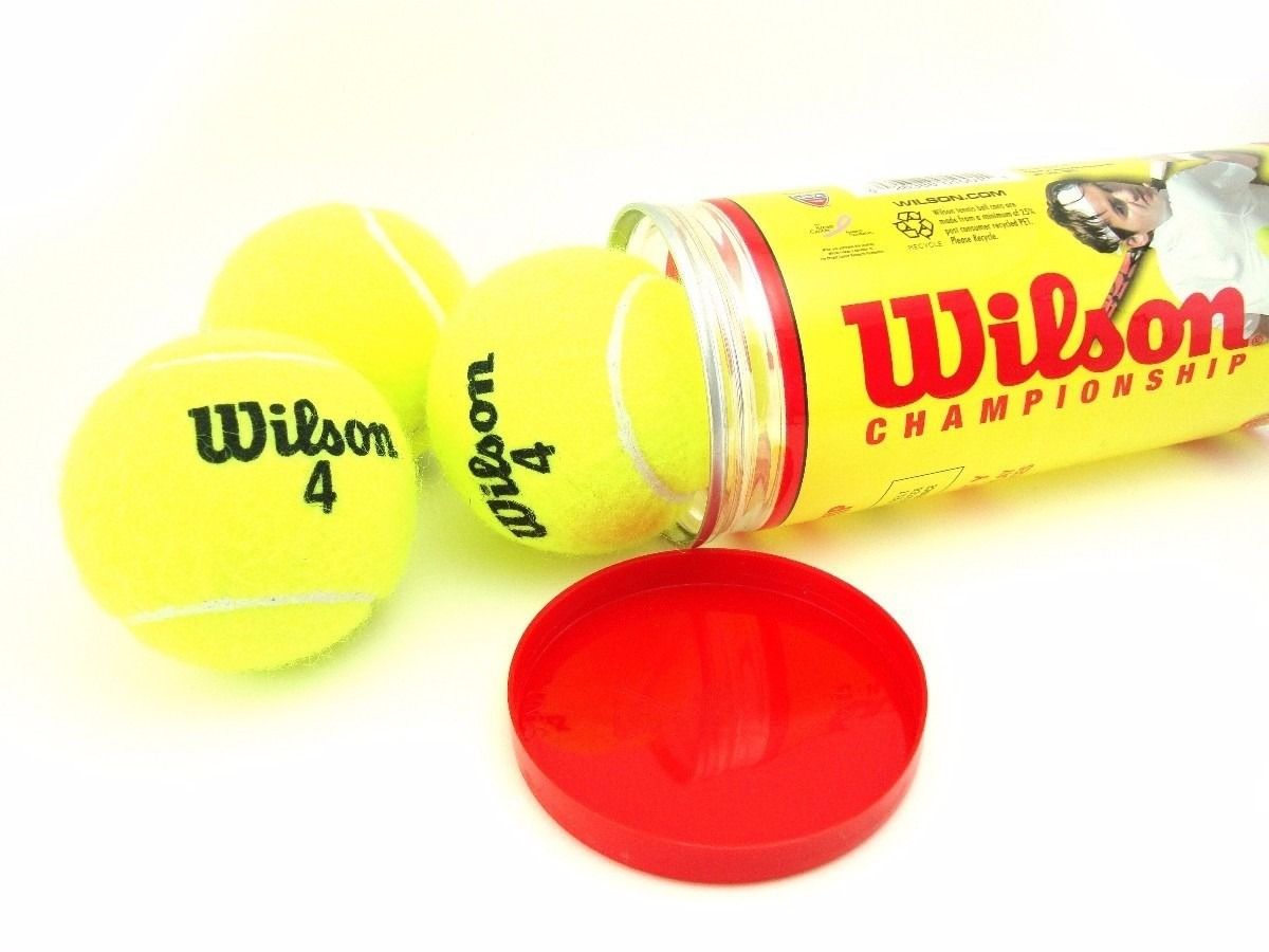 62c496a45 bola de tenis wilson championship kit 3 tubos frete gratis. Carregando zoom.