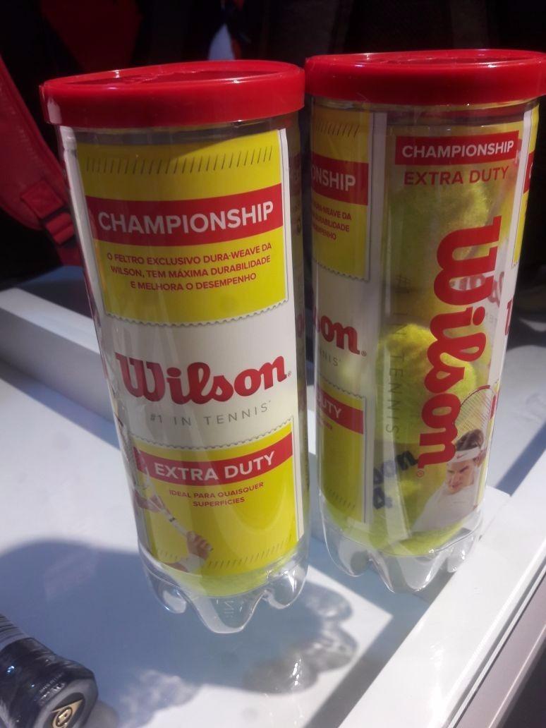 cd5388dc7 bola de tênis wilson championship caixa 24 tubos. Carregando zoom.