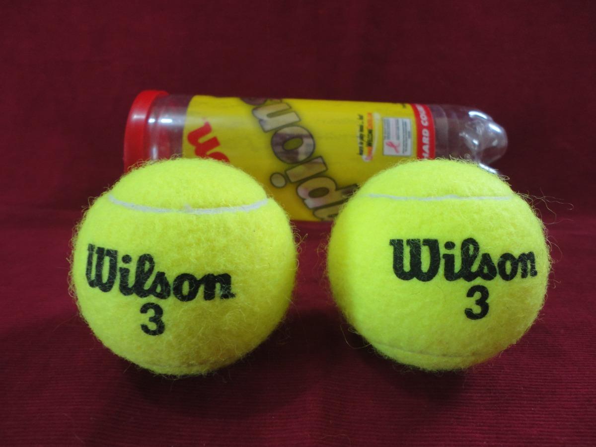 7d19556cf bola de tênis wilson championship - modelo acessível. Carregando zoom.