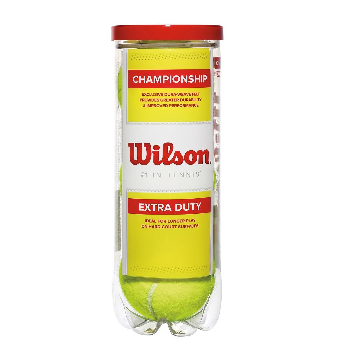 b4f7a97656 bola de tênis padel wilson championship tubo 3 bolas. Carregando zoom.