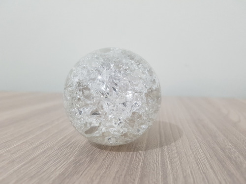 bola de vidro para fonte de água esfera cristal 5 cm