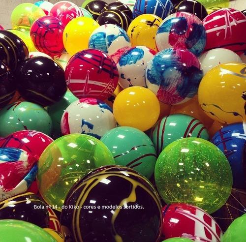 bola de vinil coloridas lembrança p/ aniversário 36cm (1un)