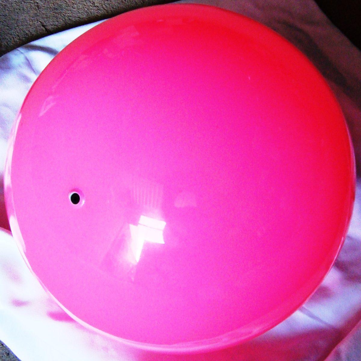 Bola de vinil lisa 25cm com argolas para decora o festas for Bolas para piscina de bolas