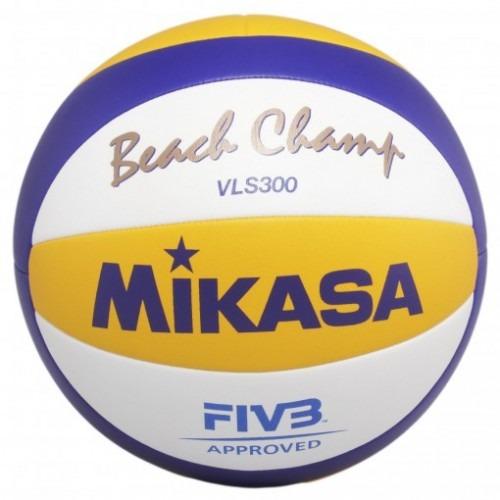 3e90318694ce8 Bola De Vôlei De Praia Mikasa Beach Champ Vls 300 - R  349