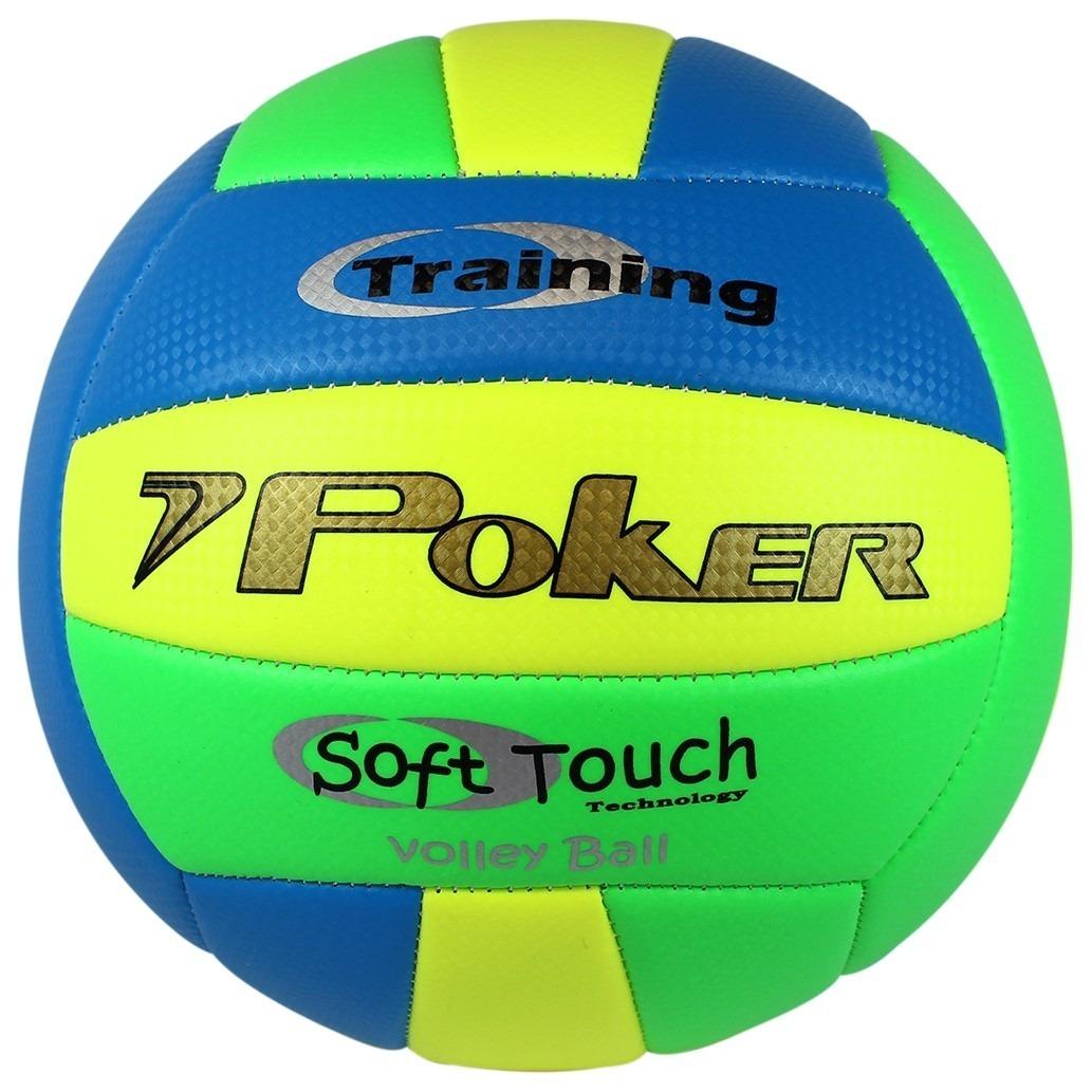 Bola De Vôlei Poker Training Soft Touch - R$ 69,90 em Mercado Livre