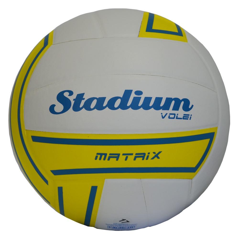 Bola De Vôlei Stadium Matrix Oficial -branco cdb825e3d439f