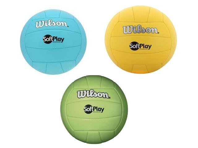 991537bb6 Bola De Vôlei Wilson Soft Play Colorida - R  51