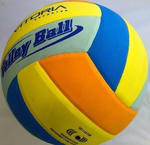 bola de volei de praia eva vitoria em tamanho oficial macia