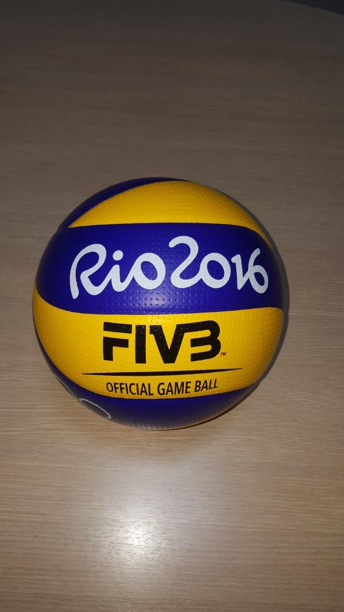 Bola De Volei Oficial Usada Olímpiadas Rio 2016 - R  329 c047c8c547038