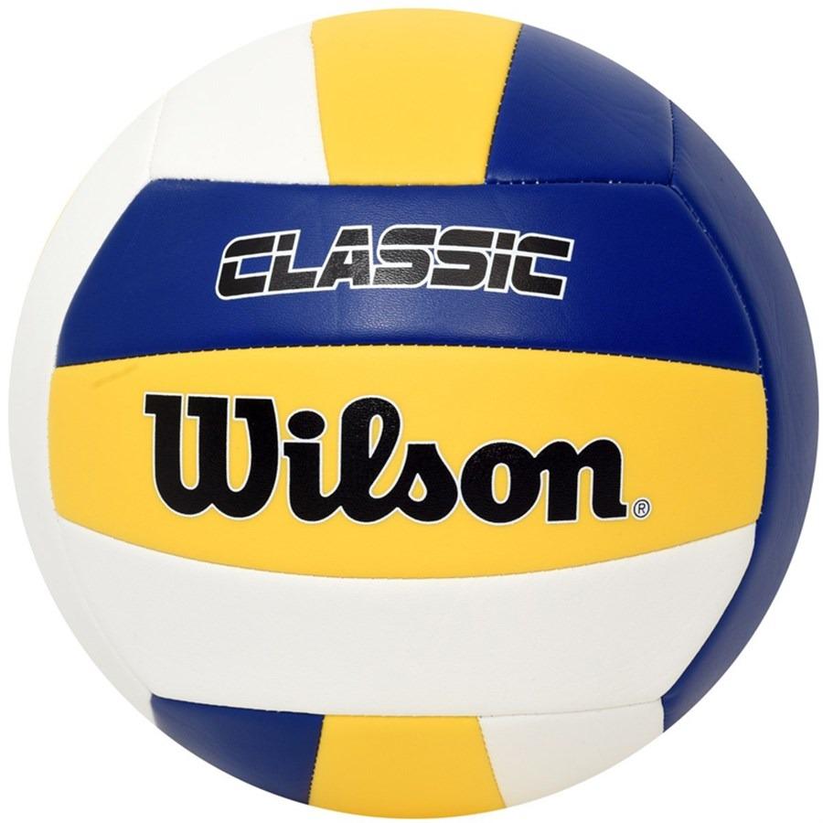 bola de volei wilson classic azul e amarelo. Carregando zoom. 0acc2a3918281
