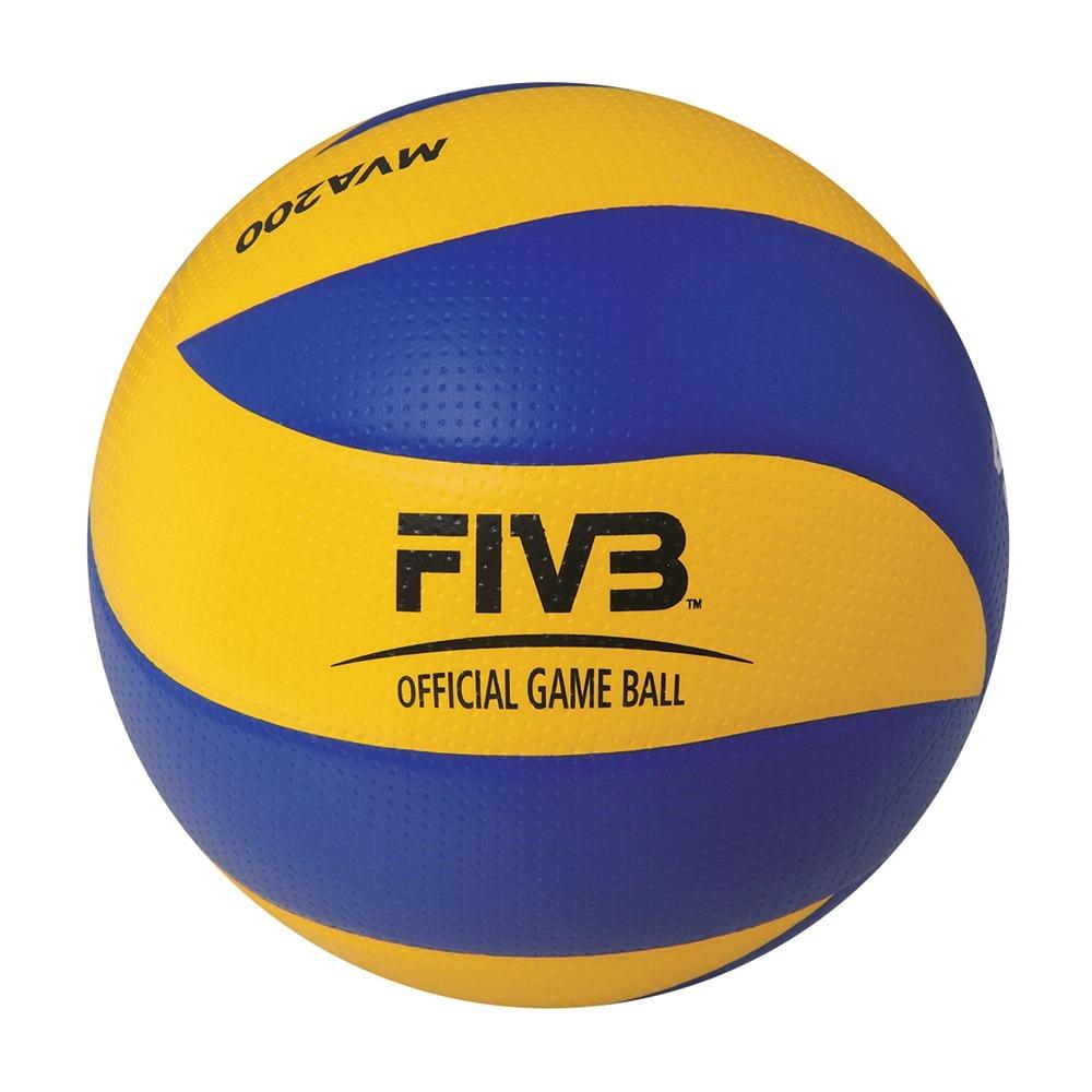 bola de voleibol azul e amarelo mva200 size 5 mikasa. Carregando zoom. 8f184abf2c5ed