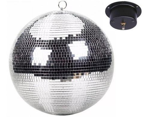 bola disco de espejos 20 pul. con motor nueva / abregoaudio
