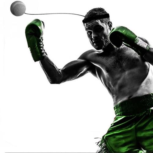 bola entrenamiento box reflejos velocidad ejercicio de boxeo