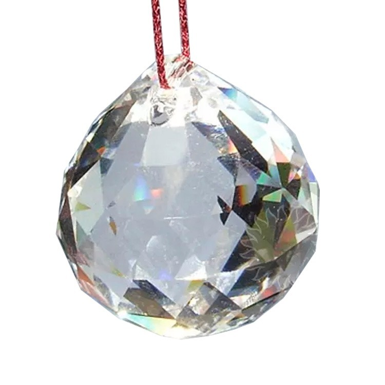 58a63ab83dc Bola Esfera De Cristal Facetada Egípcio 30mm Feng Shui - R  24