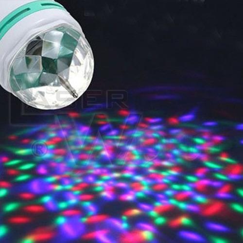 bola esfera led rgb giratoria p/ colgar, lámpara leds, luces