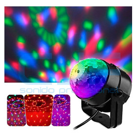 Bola Esfera Led Rgb Mini Ball Audioritmica Fiesta Spe Cjf