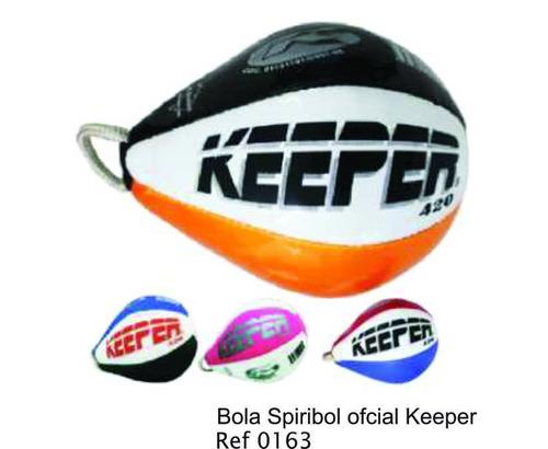 bola espiribol keeper com costura oficial 420